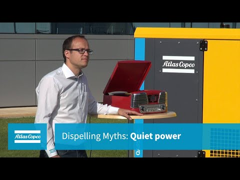 Atlas Copco Dispelling Myths: Quiet Power