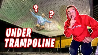 Hid Under Trampoline Park To Cheat In Hide & Seek!