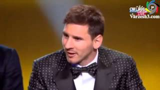 Ronaldo laughing because of Messi Selection as best football player