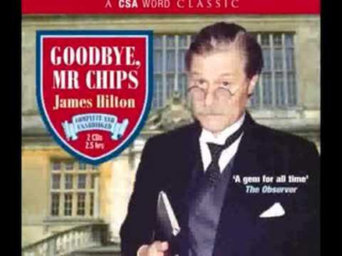 James Hilton ' GOODBYE, MR CHIPS' -Audio Book -