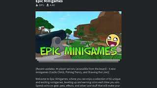 Cracking the Top 3 on Roblox Epic Minigames Monthly Board (by BlueDaNoob)
