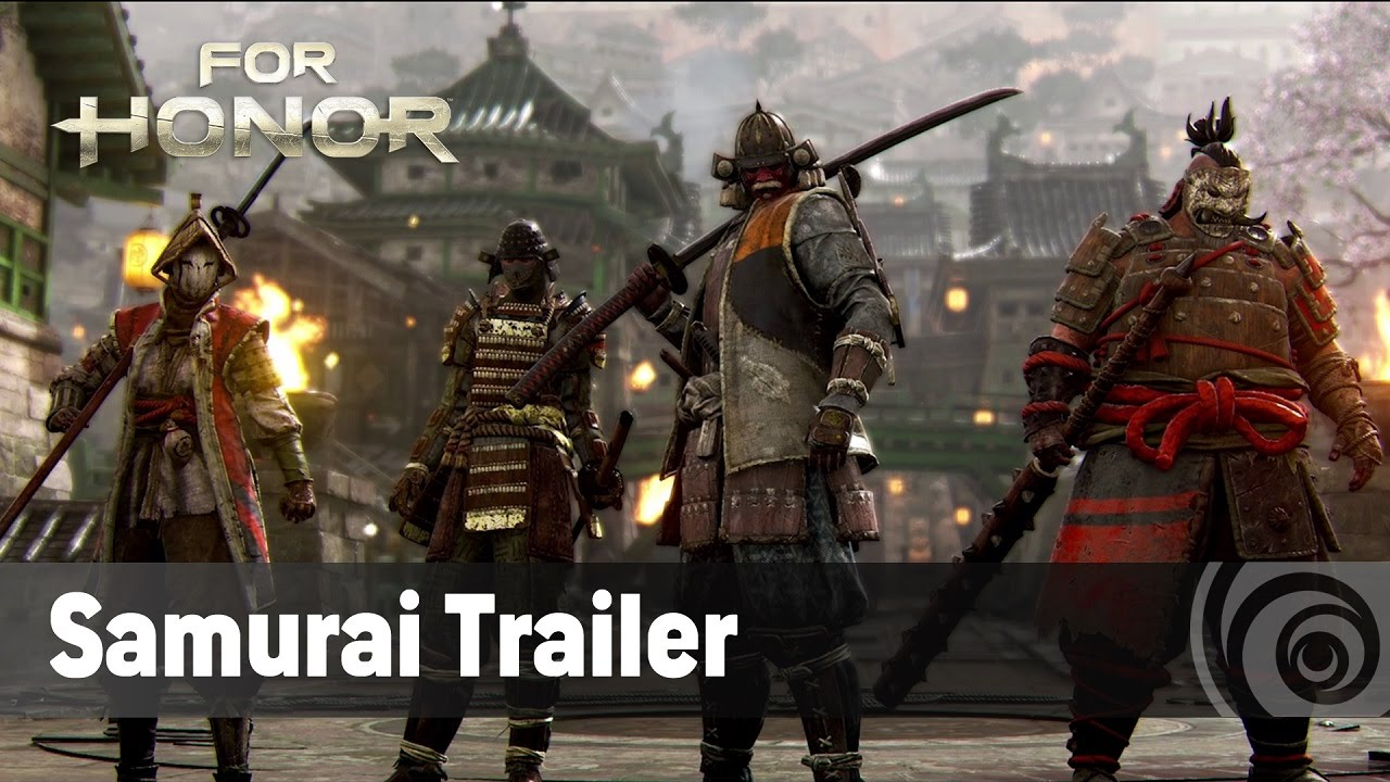 for honor samurai trailer ufficiale tgs 2016 it youtube. Black Bedroom Furniture Sets. Home Design Ideas