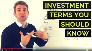 Investment Terms You Need to Know ✅