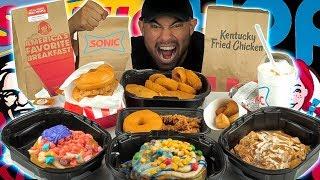 IHOP Cereal Pancakes & KFC Donut Sandwich & Other NEW Fast Food Menu Food