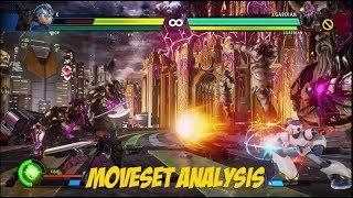 Mega Man X Full Moveset Analysis - Marvel vs Capcom Infinite Demo