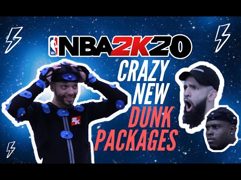 NEW DUNKS In NBA 2K20!! Behind The Scenes Of The Motion Capture For Some Of The New Dunk Packages