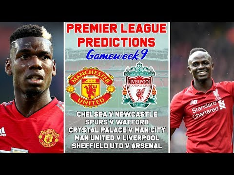2019-2020 Premier League Predictions & Preview Week 9 | Manchester United v Liverpool