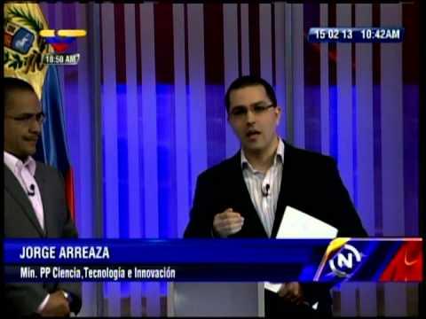 Resumen de cadena Ernesto Villegas y Jorge Arreaza mostrando primeras imágenes de Chávez