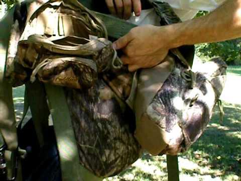 Trophyline tree saddle rope hook up