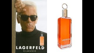 Karl Lagerfeld Classic Fragrance Review (1978)