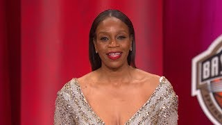 Tina Thompson's Basketball Hall of Fame Enshrinement Speech