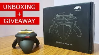 Unboxing + Giveaway - AFi 360 Panorama Head for Smartphone and Action Camera