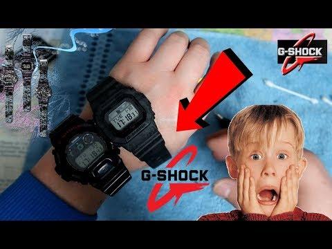 чистка Casio G-shock я в шоке от увиденного.