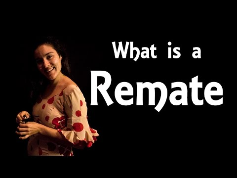 Flamenco: What is a Remate