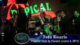 Toño Rosario el kukito en vivo en el Tropical Club de Passaic, NJ (Junio 4, 2011) by NecioTV.com