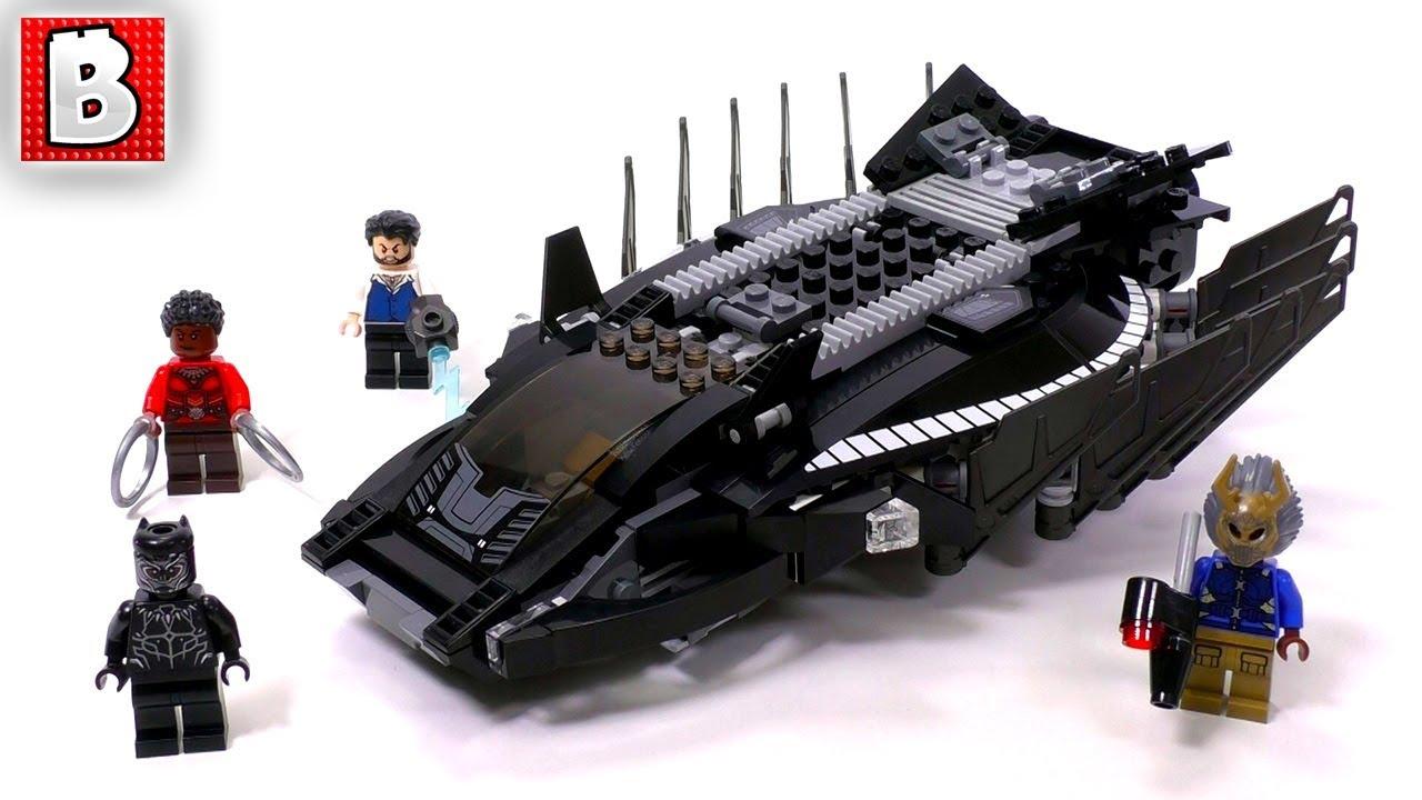 New LEGO Marvel Super Heroes Black Panther Royal Talon Fighter Attack 76100