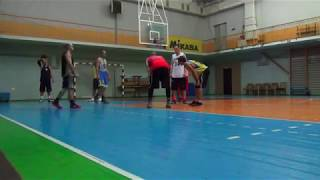 Новая Каховка тренировка баскетбол 14.09.2017 (5 часть)