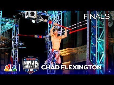 Chad Flexington (Ben Udy): Not Just A Wig And A Fanny Pack - American Ninja Warrior LA Finals 2019