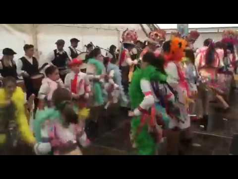 Día grande do Entroido de Cobres, en Vilaboa