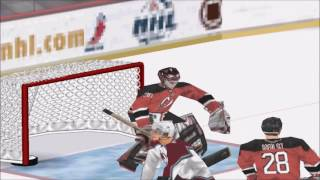 NHL 2001 PS1 Gameplay HD