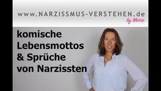 komische Lebensmottos & typische Sätze von Narzissten - wie Du Dich positionieren kannst