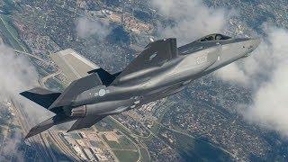 태극 마크 선명한 대한민국 공군 F-35 1호기 비행 영상 첫 공개!