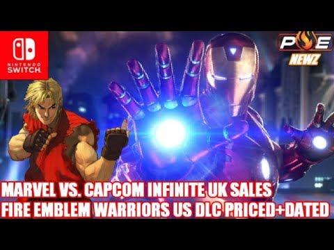 Marvel Vs Capcom: Infinite Sales Discussion, FE Warriors DLC DatedPriced in US!  PE NewZ