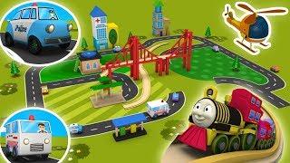 Cartoon Train - Toy Factory train - Trains for Kids - Choo Choo Train - Toy Train -Trains - Cars