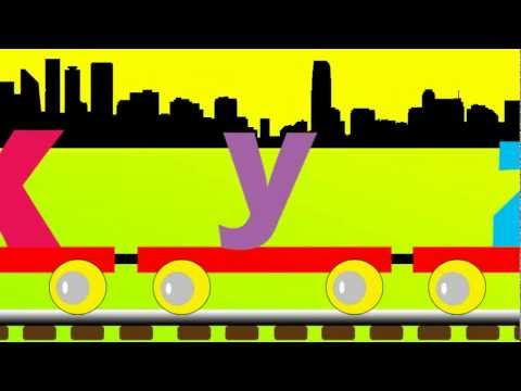Small Alphabet Train - A