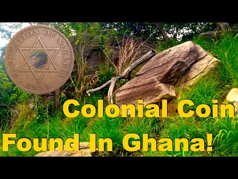 Colonial Coin Found While Metal Detecting in Africa ( Ghana ) 2016