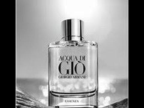 ccfb635c7ad Aqua di Gio Essenza by Giorgio Armani Unboxing   Review - YouTube
