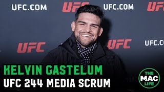 Kelvin Gastelum won't fight Jared Cannonier on short notice if Darren Till can't make UFC 244