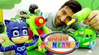 Vidéo pour enfants. Jardin d'Enfants № 46. Les Pyjamasques font la course