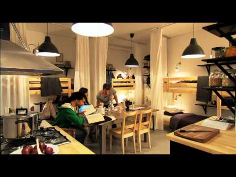 Ikea small spaces youtube - Ikea for small apartments ...