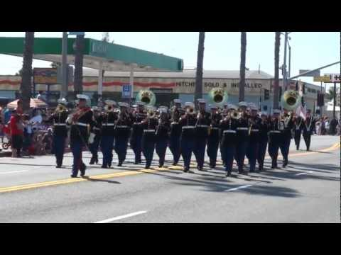 1st Marine Division Band - 2012 Oceanside Independence Day Freedom Parade