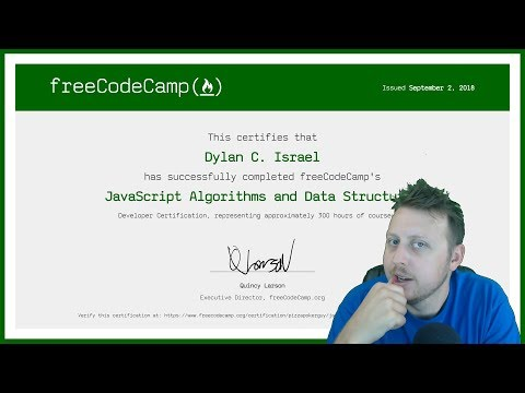 JavaScript Algorithms and Data Structures Certification Review | FreeCodeCamp Certification