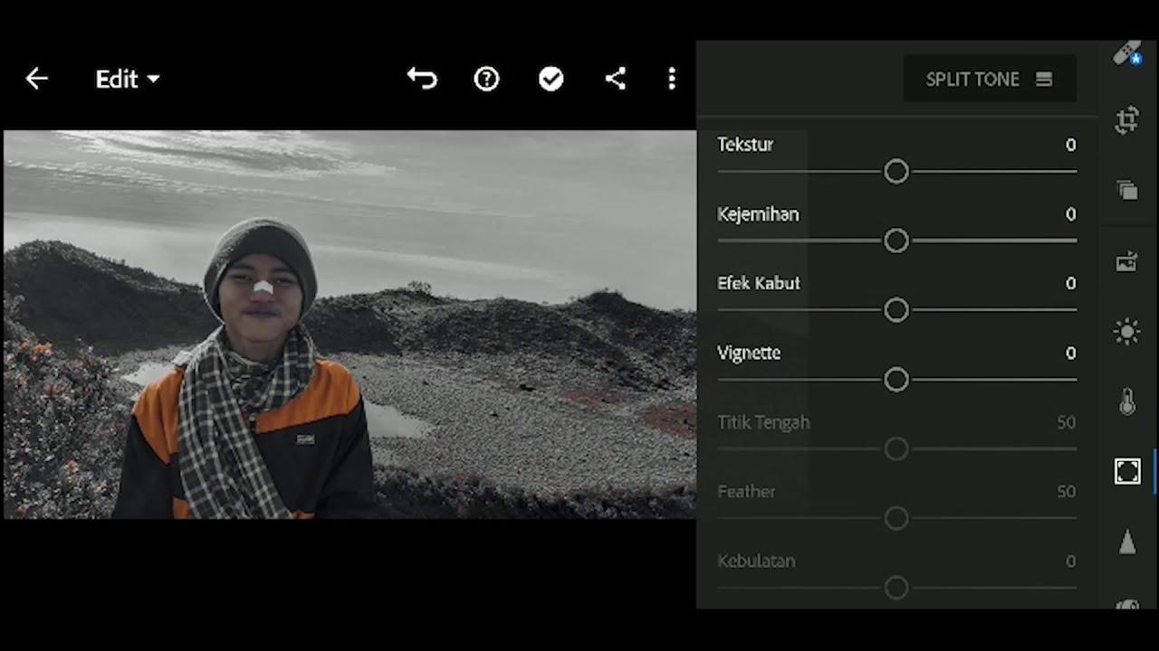 cara edit foto filter grey di Lightroom - YouTube