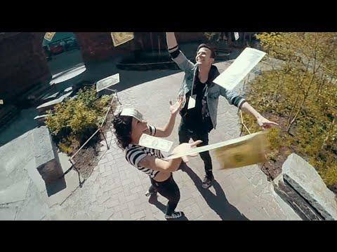 Matt and Kim - Let's Run Away - Official Music Video