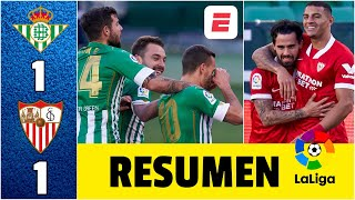 Real Betis 1-1 Sevilla. Empate con goles de Suso y Canales. Bono impide la remontada | LaLiga
