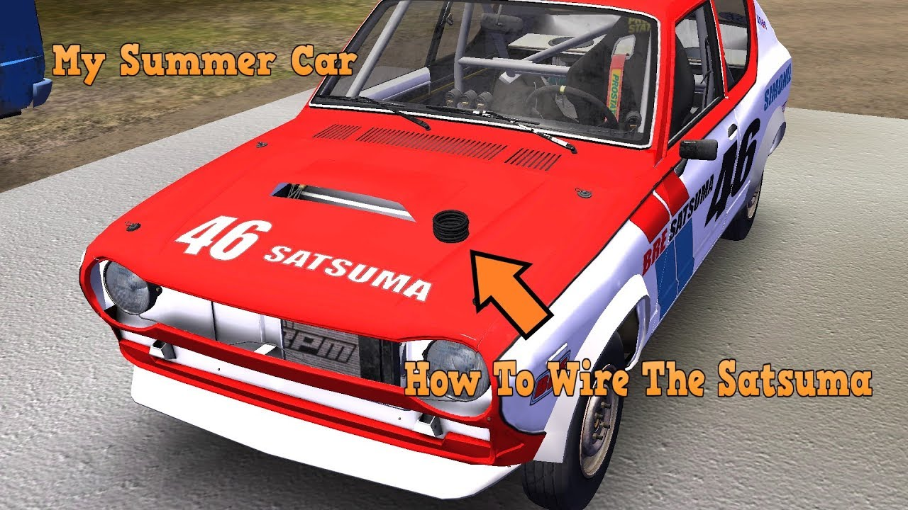 My Summer Car How To Wire The Satsuma Youtube