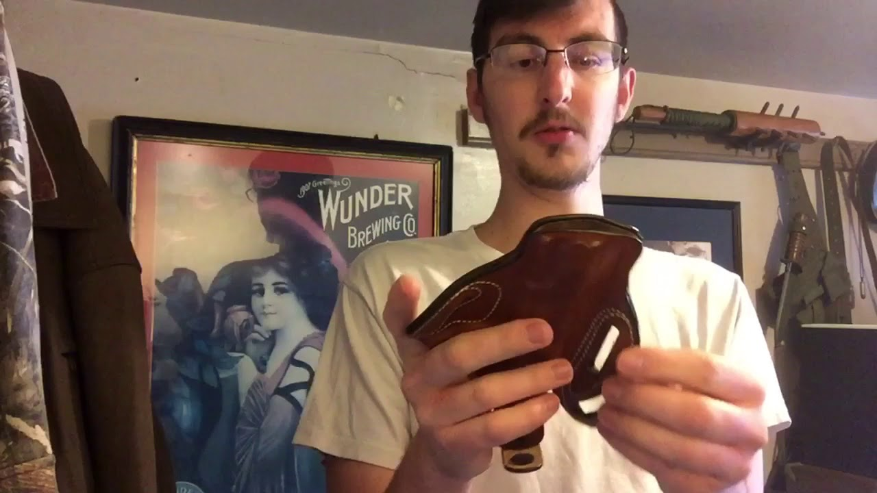 DeSantis thumb break scabbard holster review featuring 1911