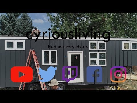 Tiny House Build - Standing Seam Metal Roof Install - Cyrious Living