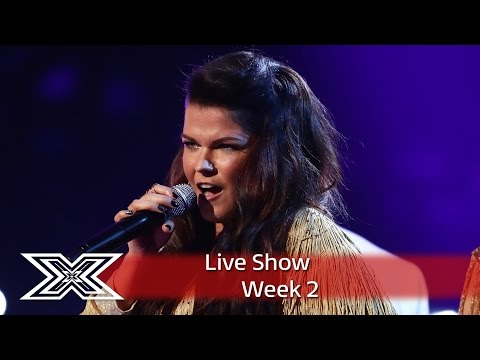 Saara Aalto belts out River Deep, Mountain High | Live Shows Week 2 | The X Factor UK 2016