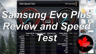 Samsung Evo Plus Micro SD card Review and Speed Test