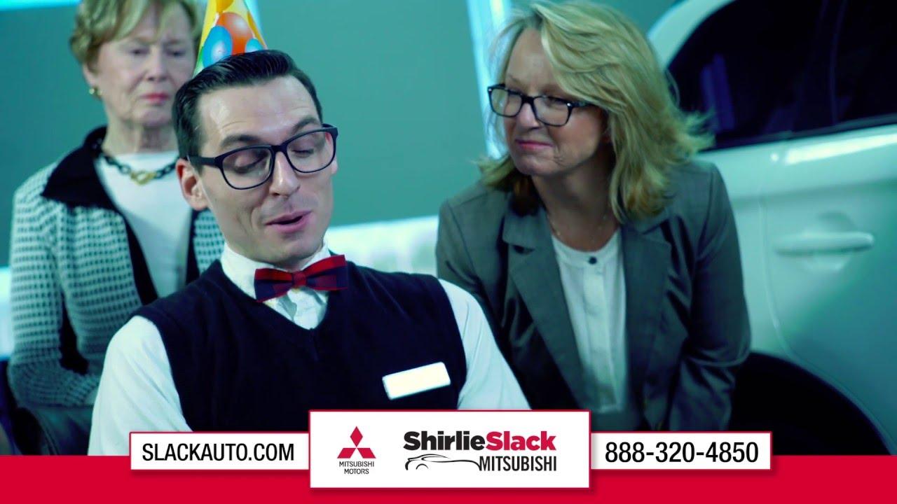 shirlie slack mitsubishi bobby commercial - happy birthday - youtube