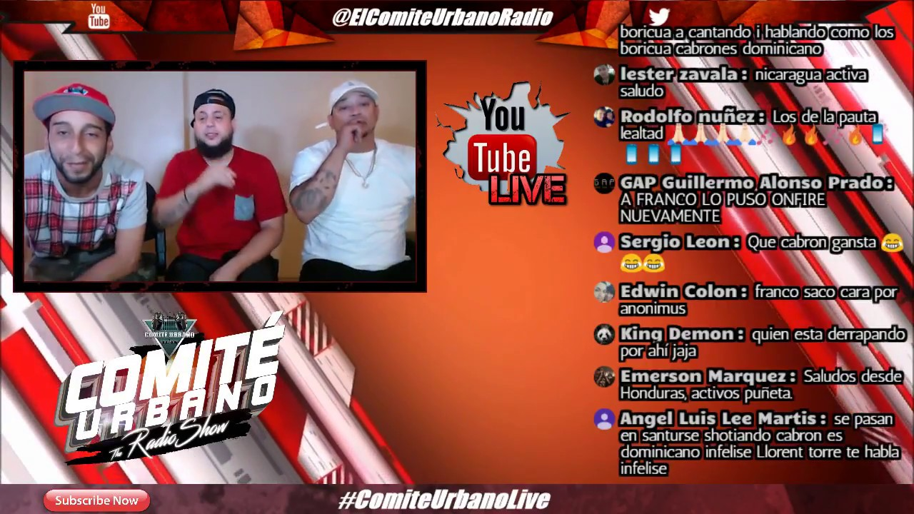 Franco El Gorila Buscando Pauta? / Feloman Molesto con Dj Nelson / Jon-Z No Cumple Ft - Comite Live