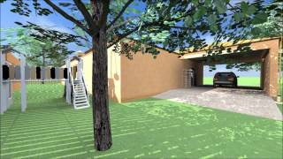 Fly Through Animation Rendering ( Archicad + Artlantis )