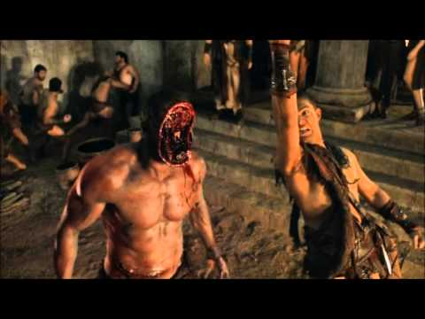 spartacus s2 brutal deaths!