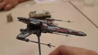 튜닝타임즈 프라모델 강좌 강남팀 한민 강사님의 Bandai Vehicle Model 반다이 비히클 모델 Star Wars 스타워즈 X-Wing 완성