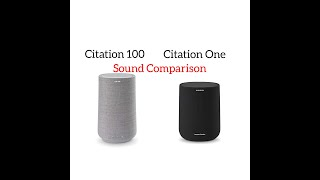 Harman/kardon Citation 100 and Citation One | Sound Comparison Test